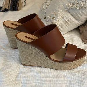 Zara Platform Heel Wedges
